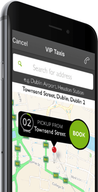 VIPTaxis mobile app