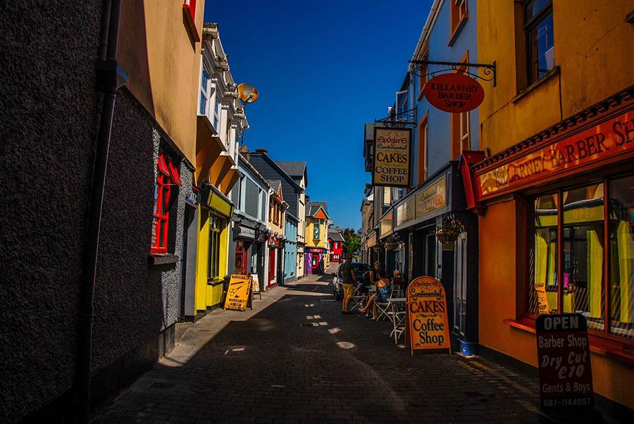 dublin streets in summer